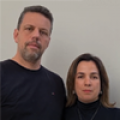Ana Paula Baldi e Fernando Ribeiro
